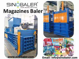 Magazines Baler Machine, Magazines Baling Press Machine – Sinobaler
