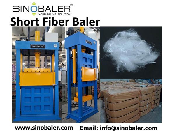 Short Fiber Baler Machine