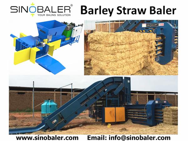Barley Straw Baler Machine