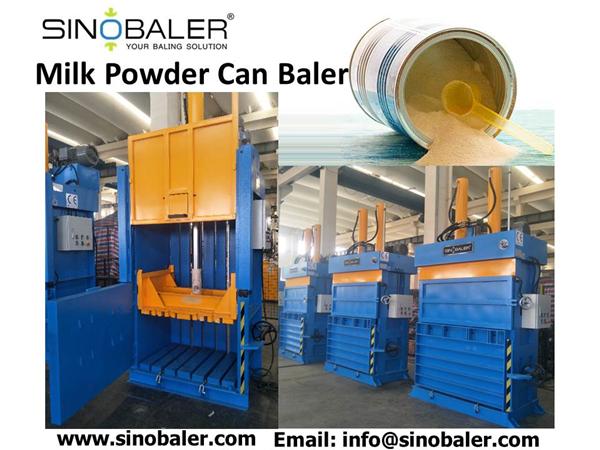 Milk Powder Can Baler Machine