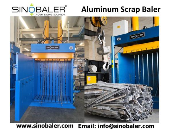 Aluminum Scrap Baler Machine