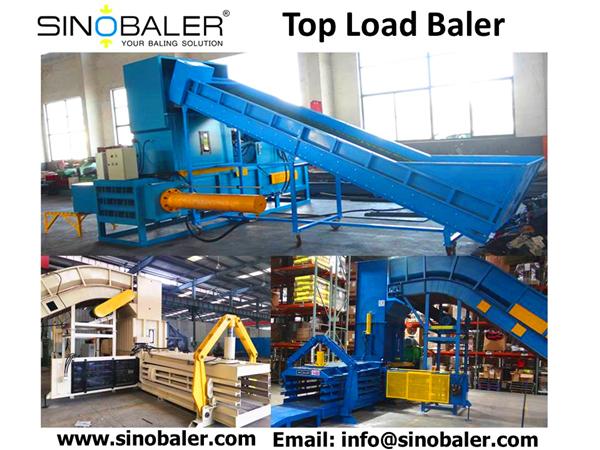 Top Load Baler Machine