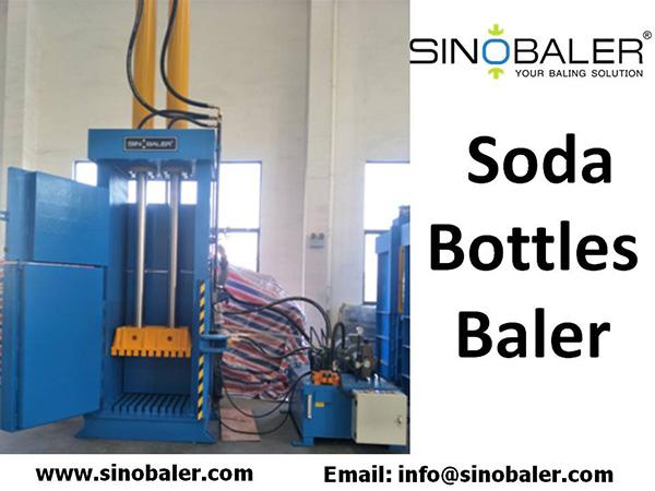 Soda Bottles Baler Machine