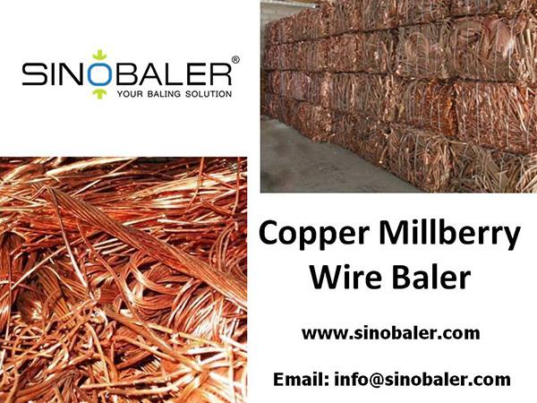Copper Millberry Wire Baler Machine