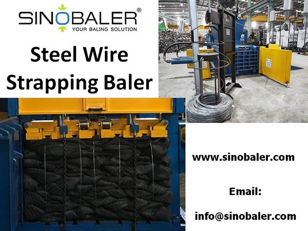 Steel Wire Strapping Baler Machine