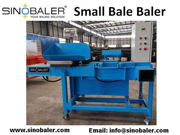 Small Bale Baler Machine