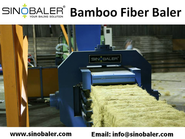 Bamboo Fiber Baler Machine