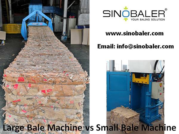 Large Bale Machine vs Small Bale Machine