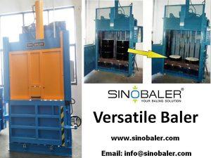 Versatile Baler Machine, Versatile Baling Press Machine - SINOBALER